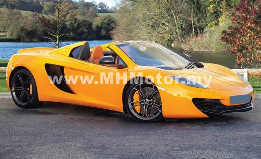 2013 – McLaren MP4-12C Spider