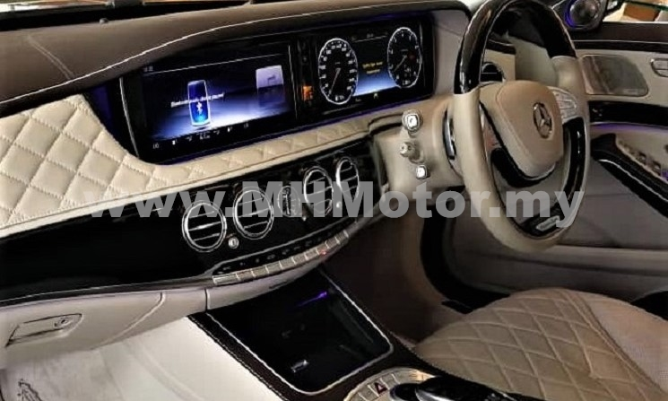 2015 – Mercedes-Maybach S600 6.0 – Black
