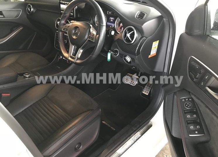 2014 – MERCEDES BENZ A180 1.6 AMG SPORT NIGHT PACK – WHITE