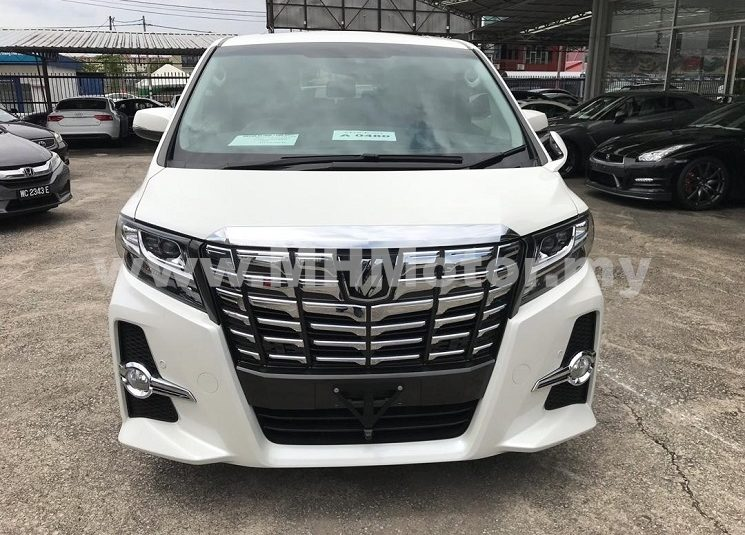 2016 – TOYOTA ALPHARD 2.5 S (8-SEATER) – PEARL WHITE