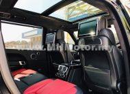 2015 – LAND ROVER RANGE ROVER 5.0 V8 LWB AUTOBIOGRAPHY – BLACK