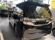 2014 – TOYOTA VELLFIRE 2.4 Z GOLDEN EYES II – BLACK