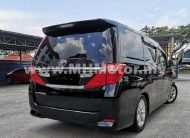 2014 – TOYOTA ALPHARD 2.4 X (8-SEATER) – BLACK