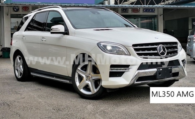 2014 – MERCEDES BENZ ML350 3.5 AMG SPORT – WHITE