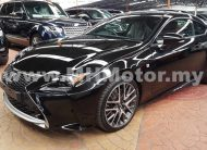 2016 – LEXUS RC200T 2.0 F SPORT COUPE – BLACK
