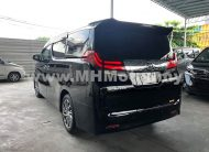 2017 – TOYOTA ALPHARD 2.5 X WELCAB – BLACK
