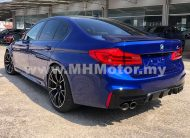 2018 – BMW M5 4.4 COMPETITION PACKAGE – BLUE